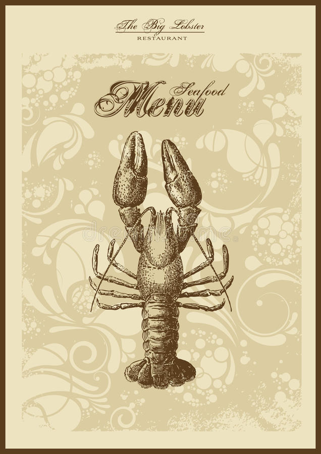 Download Menu Series: Fish And Seafood Stock Vector - Illustration: 10946831