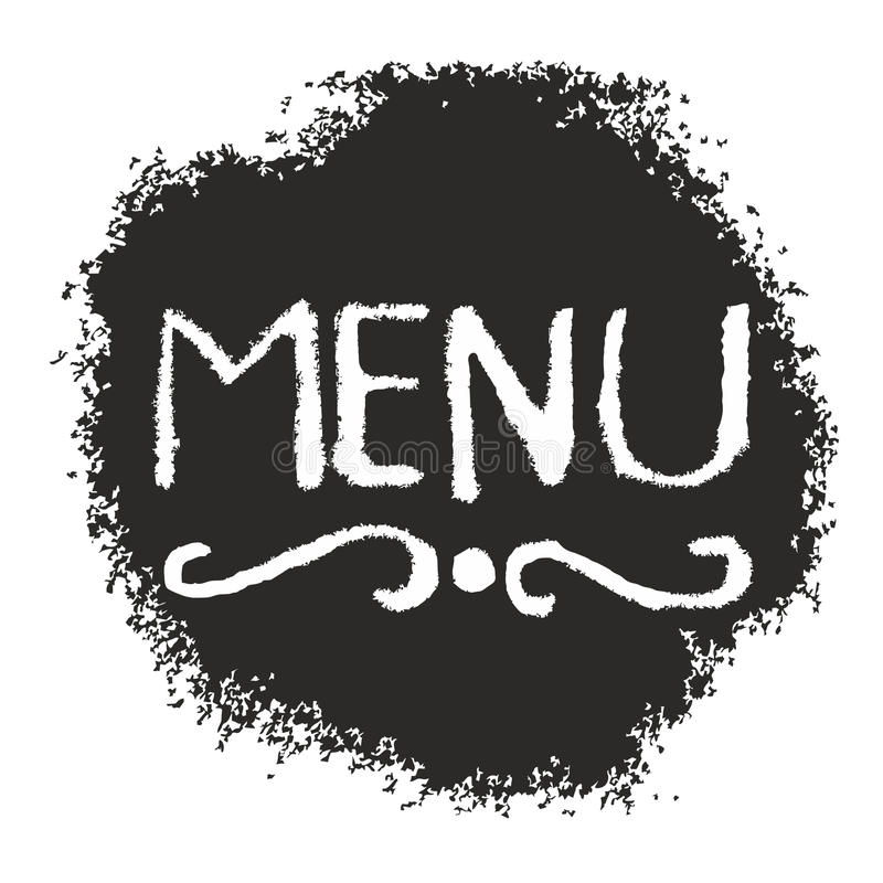 Download Menu sign stock vector. Image of elegance, cover, food - 25409883
