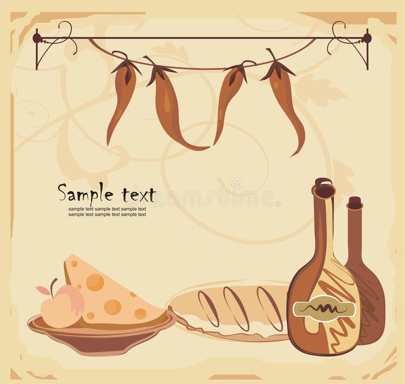 Menu Template Stock Vector Illustration Of Cafe Restaurant