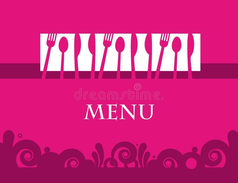 Download Menu template design stock illustration. Illustration of cooking - 26479345