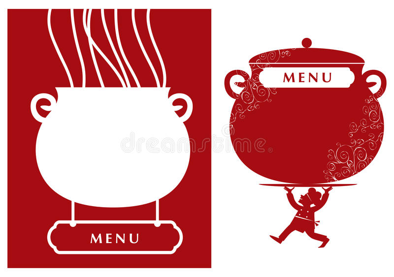 Menu vector illustration