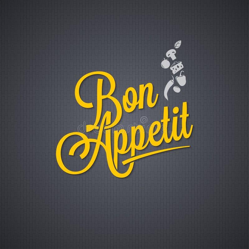 Menu vintage lettering background vector illustration