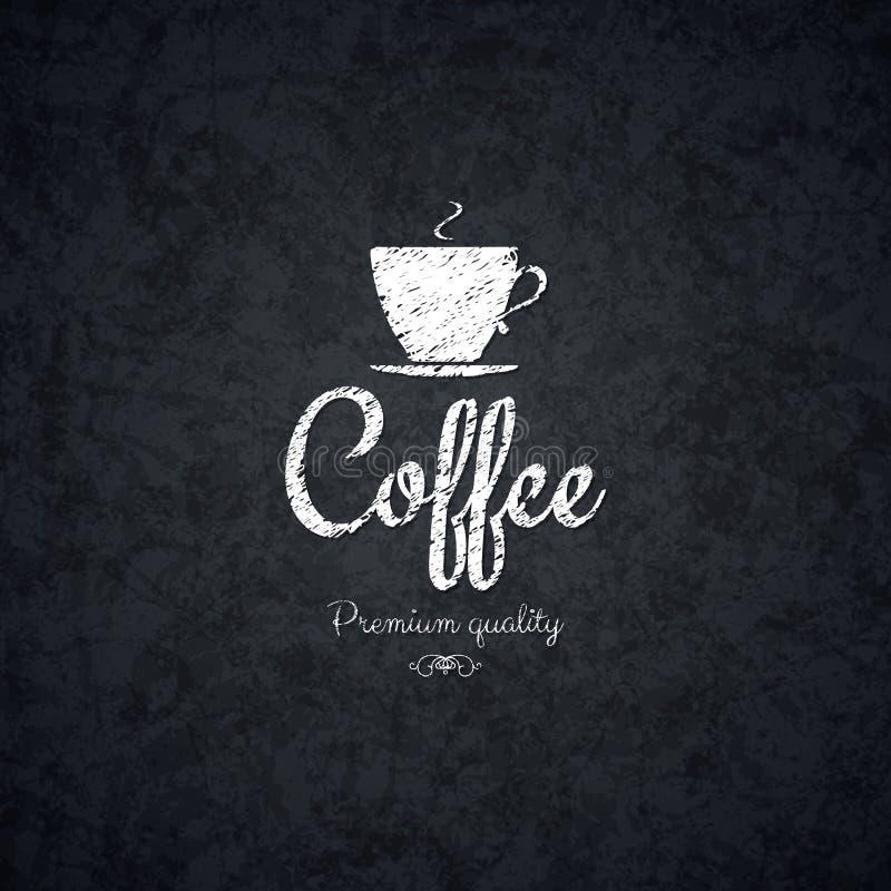 Menu voor restaurant, koffie, staaf, koffiehuis vector illustratie