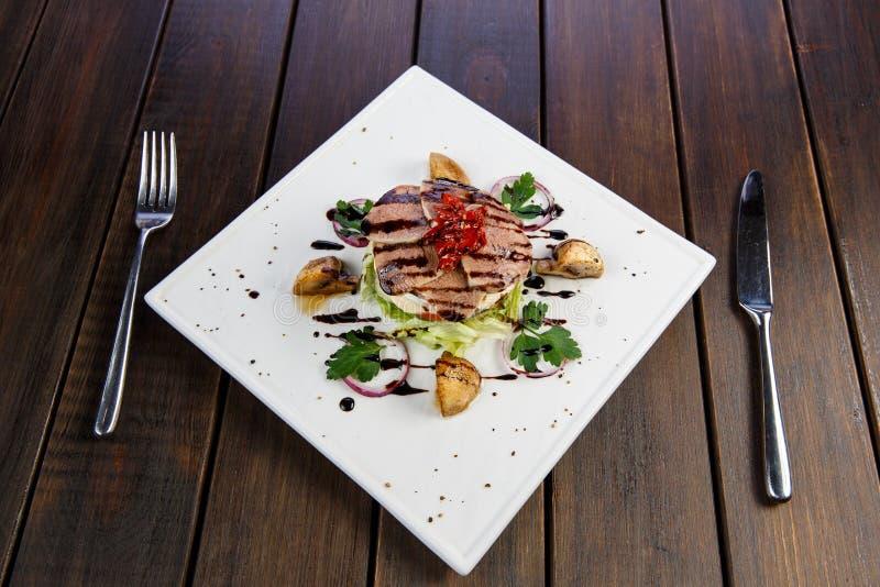 Menus para restaurantes e cafés imagens de stock