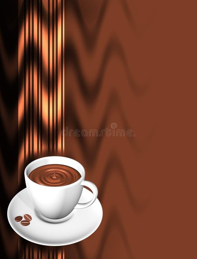 meny för kaffe 3 stock illustrationer