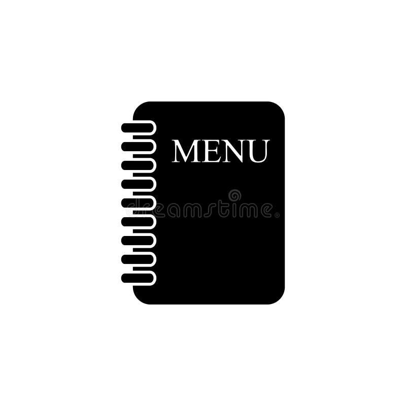 Menykortsymbol Kock kökbeståndsdelsymbol Högvärdig kvalitets- grafisk design Tecken symbol för översiktssymbolsamling för website vektor illustrationer