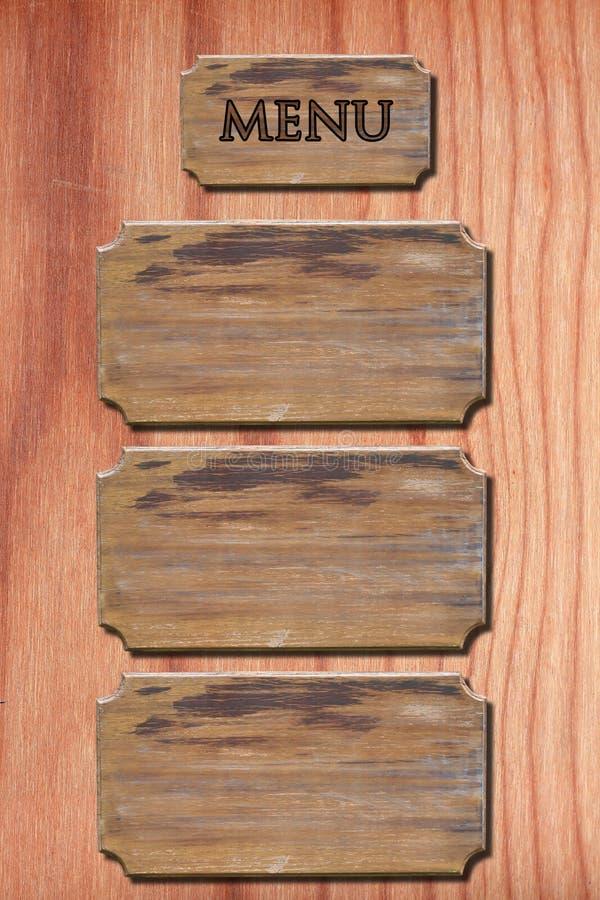 menyväggträ arkivbild