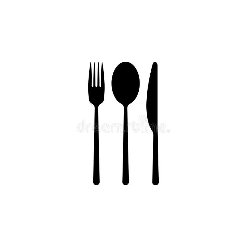 Menyvektorsymbol royaltyfri illustrationer