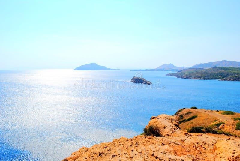 Mer Égée image libre de droits