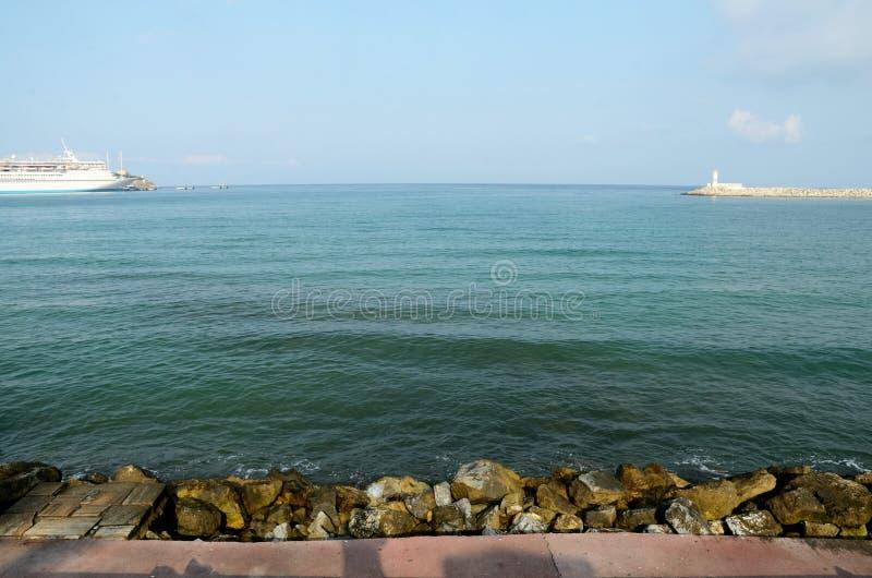 Mer Égée dans Kusadasi, Turquie photo libre de droits