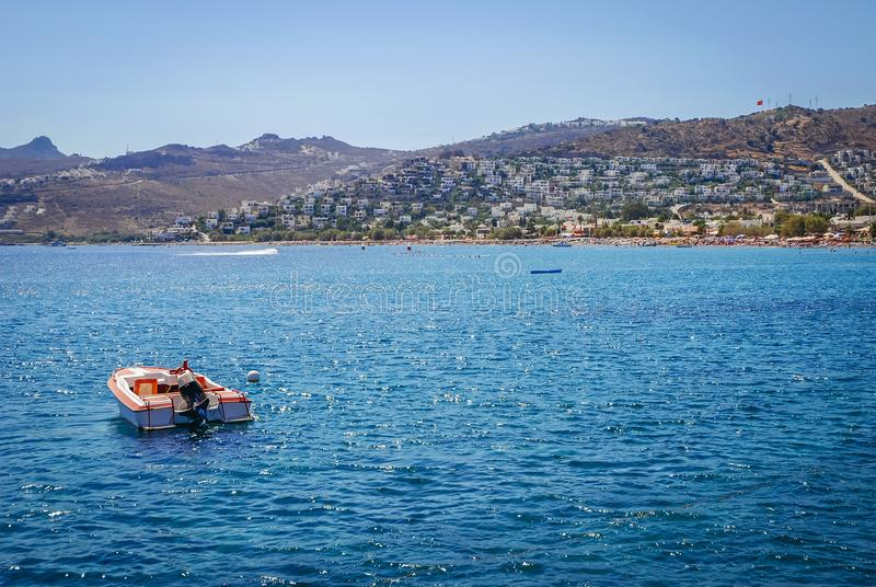 Mer Égée en Turquie photo stock