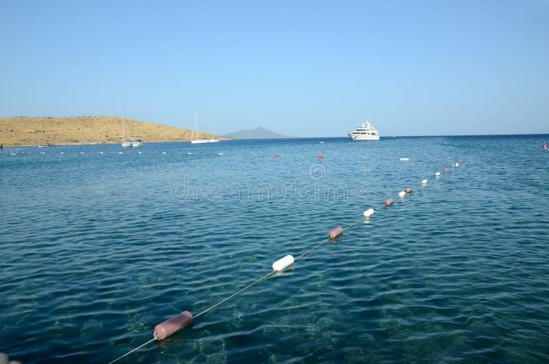 Mer Égée en Turquie photographie stock libre de droits