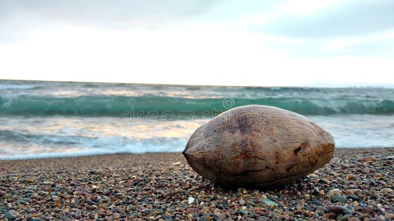 Mer actuelle photographie stock