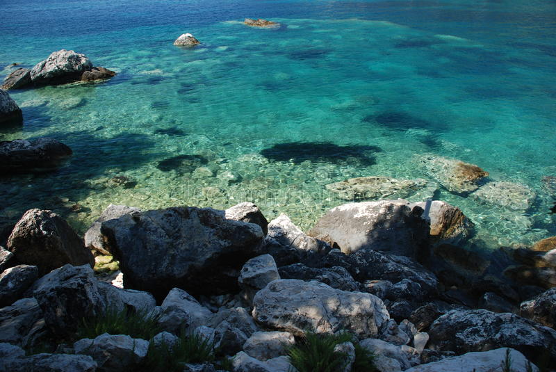 Mer Adriatique photo stock