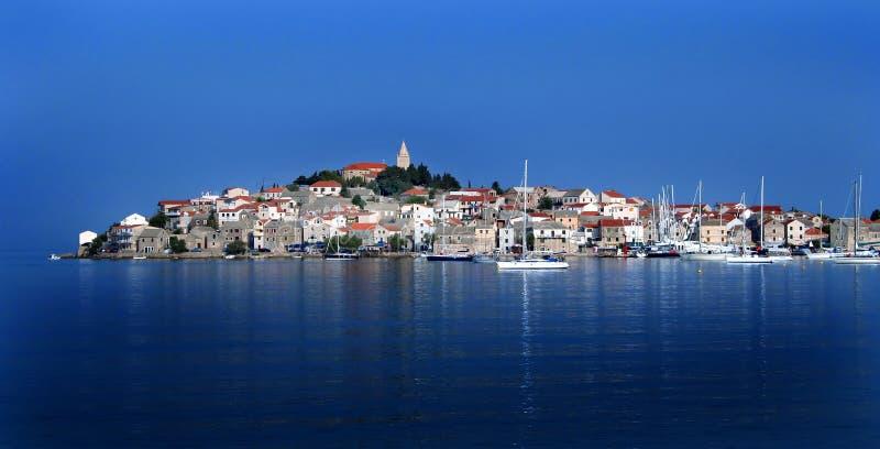 Mer Adriatique de Primosten Croatie photographie stock