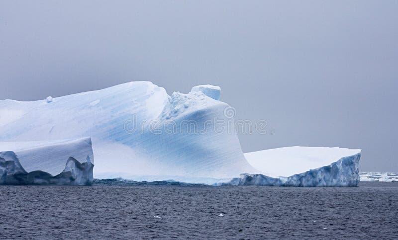 Mer Antarctique, IJsberg Wedellzee Antarctique de Wedell d'iceberg images libres de droits