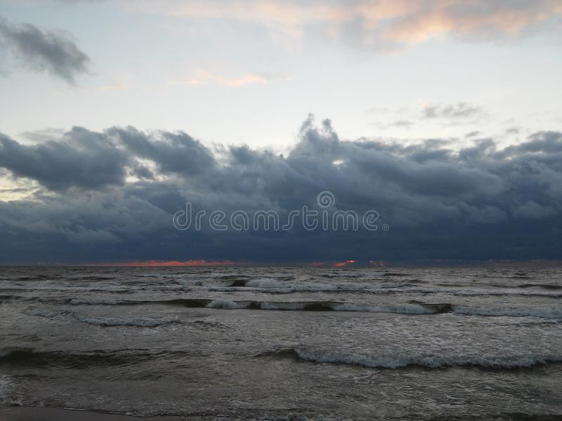 Mer baltique photos stock