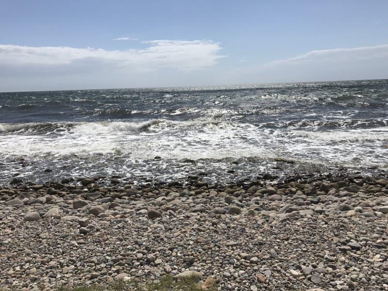 Mer baltique photo stock