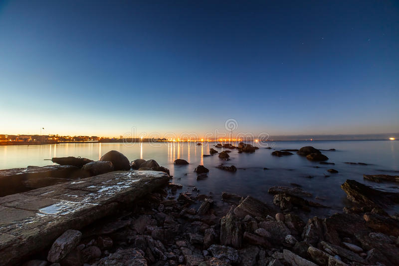 Mer baltique calme photos stock