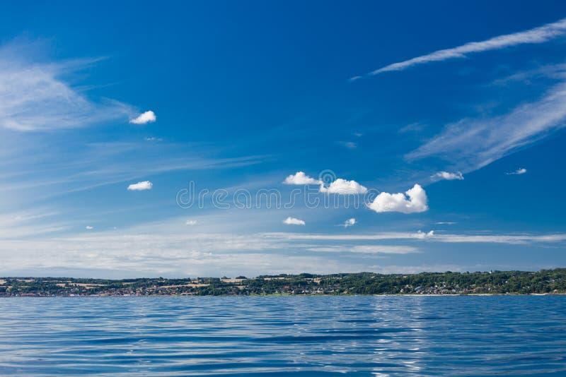 Mer baltique Danemark Scandinavie l'Europe de Christiansoe Bornholm de fort d'île image stock