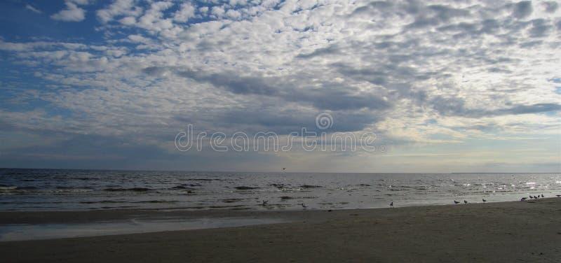 Mer baltique latvia Jurmala photos stock