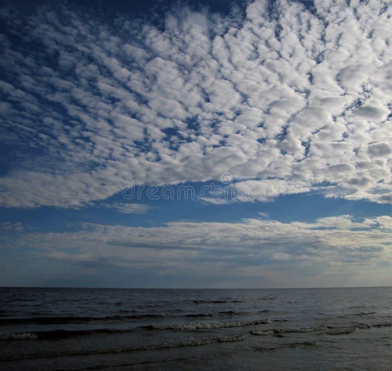 Mer baltique latvia Jurmala photos libres de droits