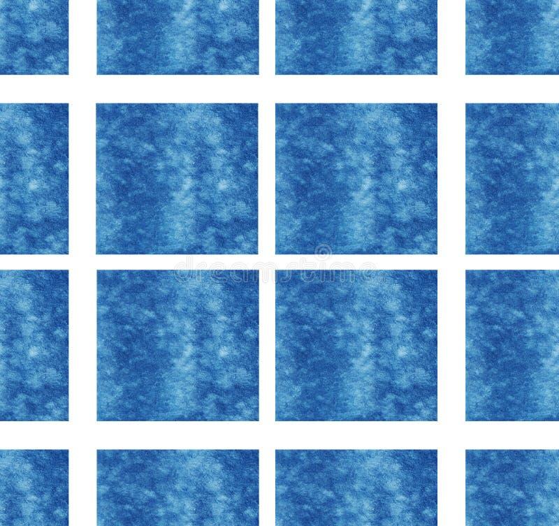 Mer blanche d'été d'habillement de textile de modèle de fond de texture de papier peint de conception en art de cube de fond abst image libre de droits
