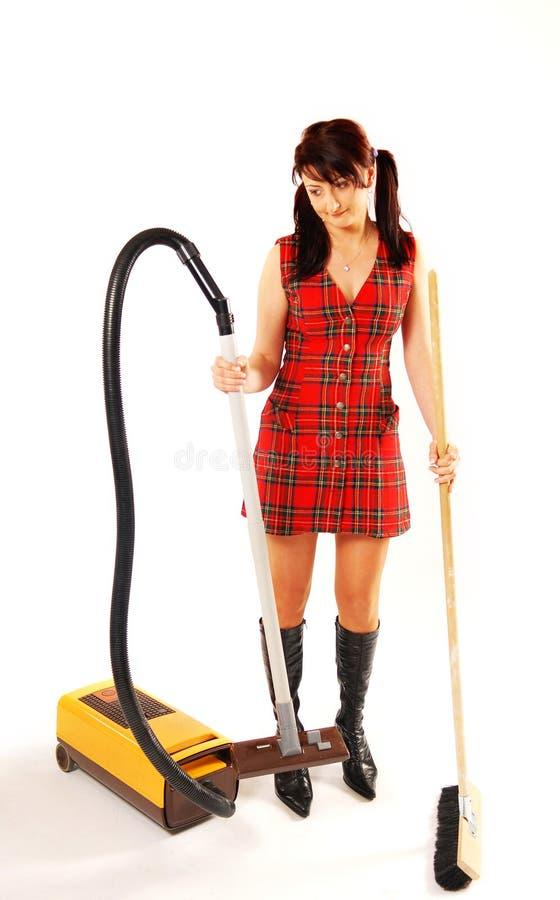 mer cleaner kvinna fotografering för bildbyråer