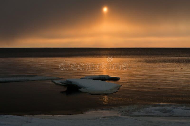 Mer congelée photos libres de droits