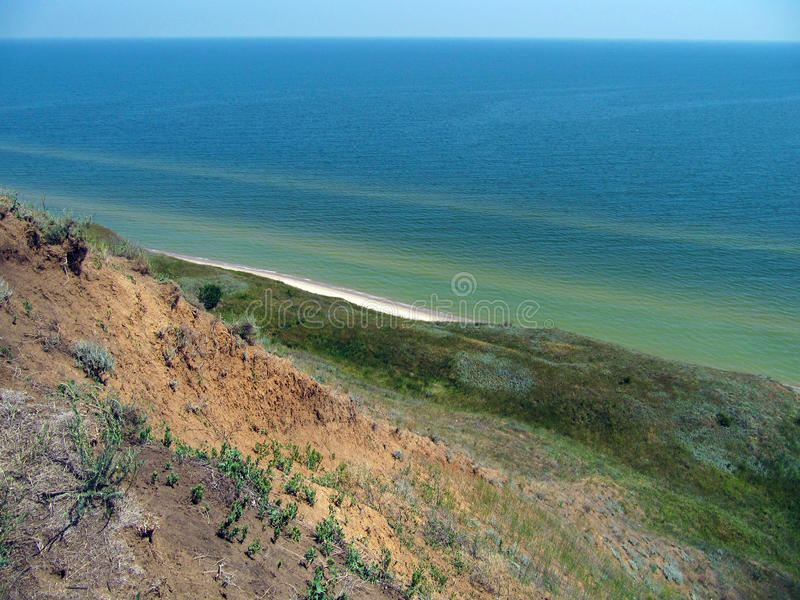 Mer d'Azov photo stock