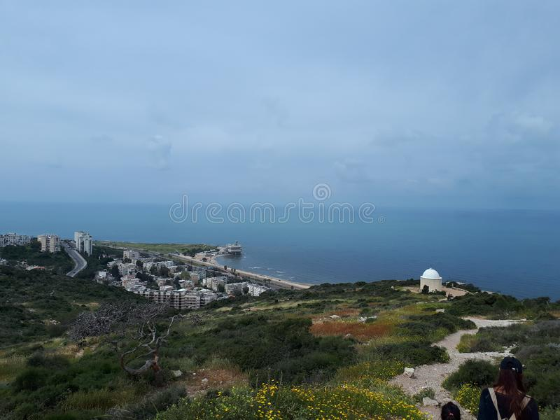 Mer de Haïfa 2 image stock