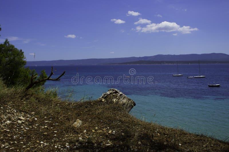 Mer de Jadran photo stock