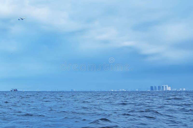 Mer de Jakarta image stock