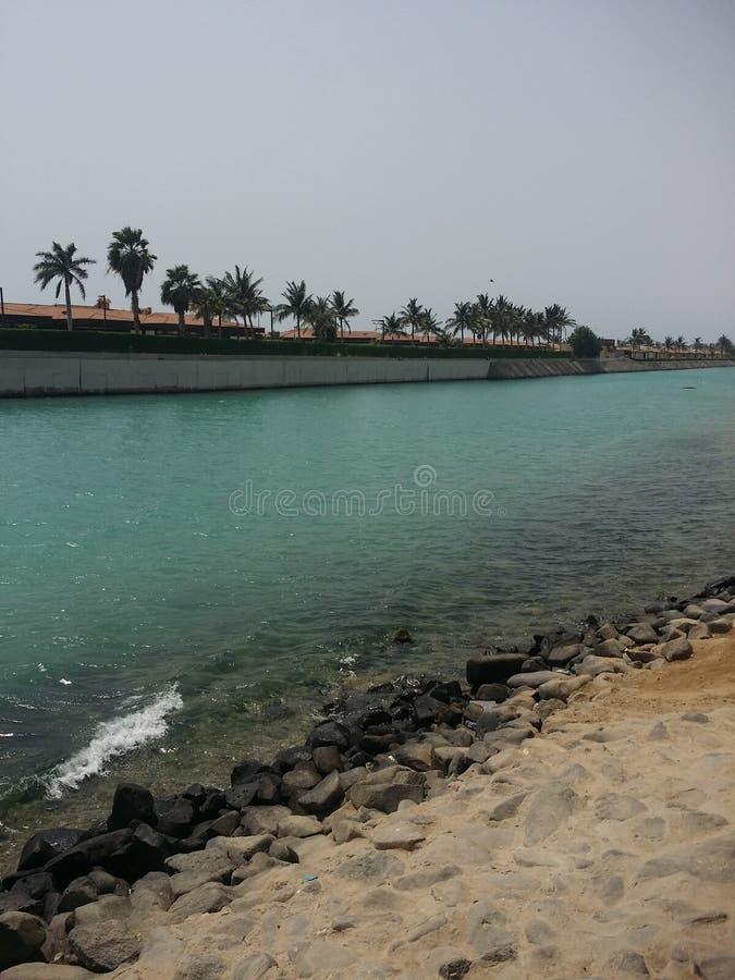 Mer de Jeddah image libre de droits