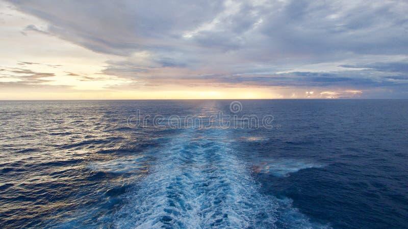 mer de La de sur de vue de mer photo libre de droits