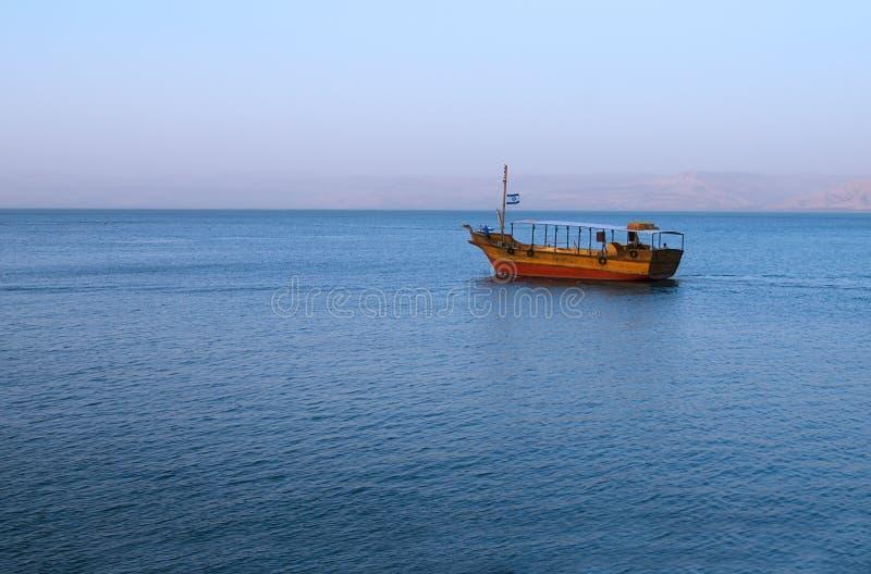 Mer de la Galilée photo stock