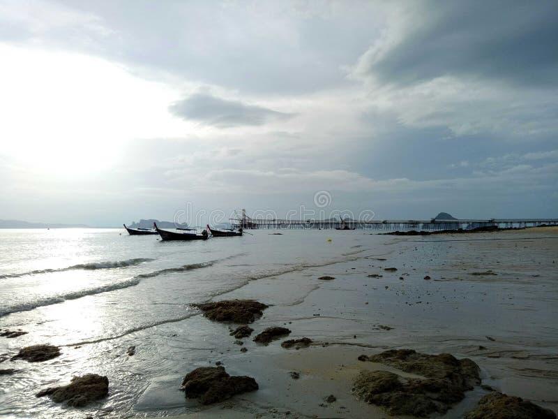 Mer de marée basse photographie stock