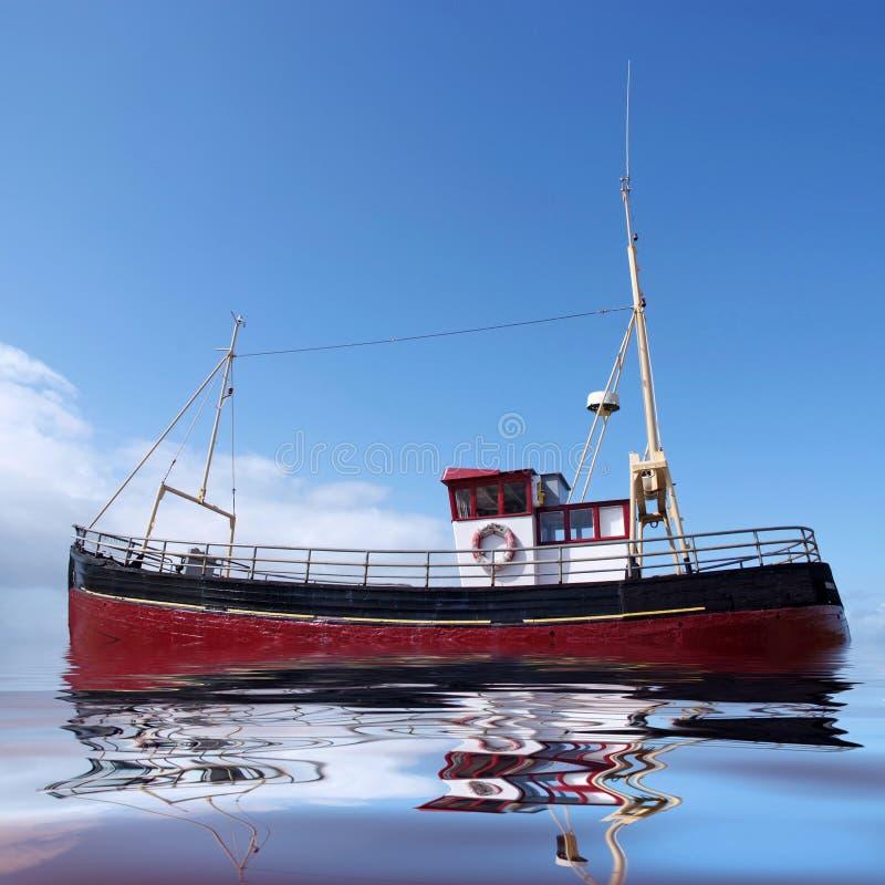Download Mer de pêche image stock. Image du côtier, côte, chalutier - 8664393