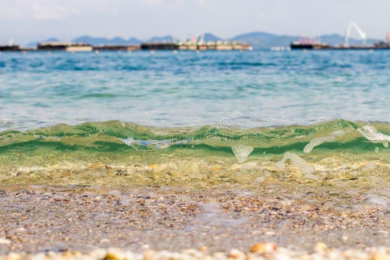 mer de plage tropicale images stock