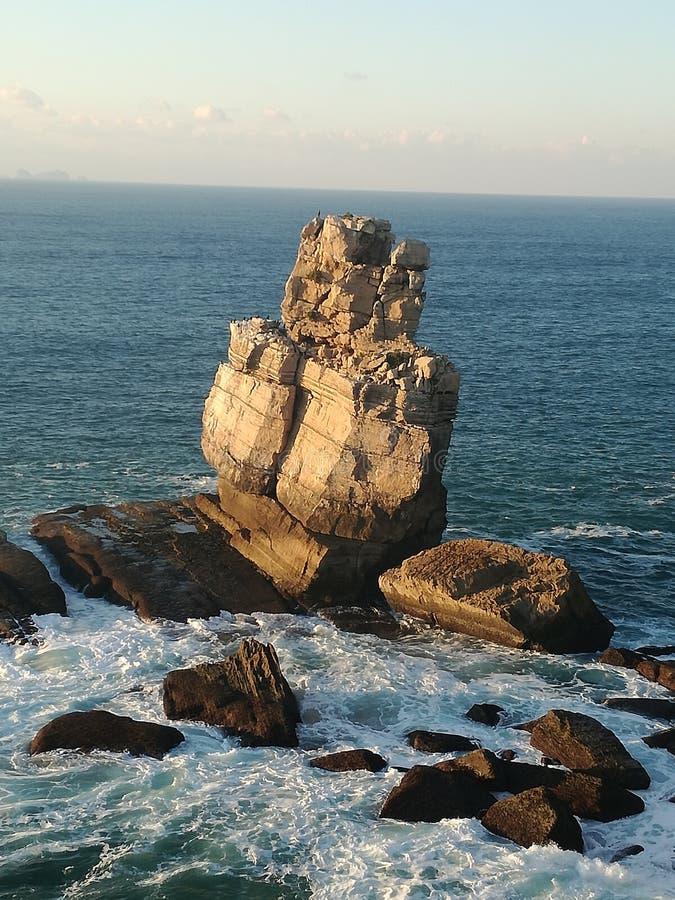 Mer de roche photographie stock