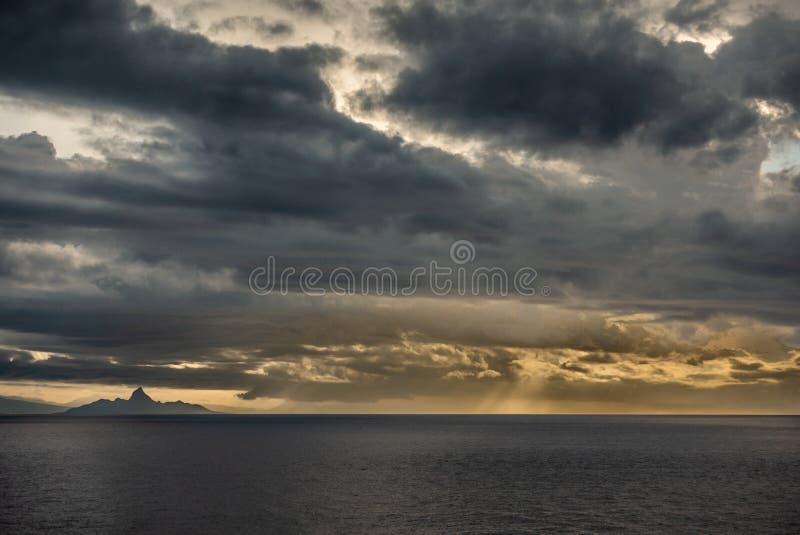 Mer de Savu outre d'île est de Nusa Tenggara, Indonésie photos stock