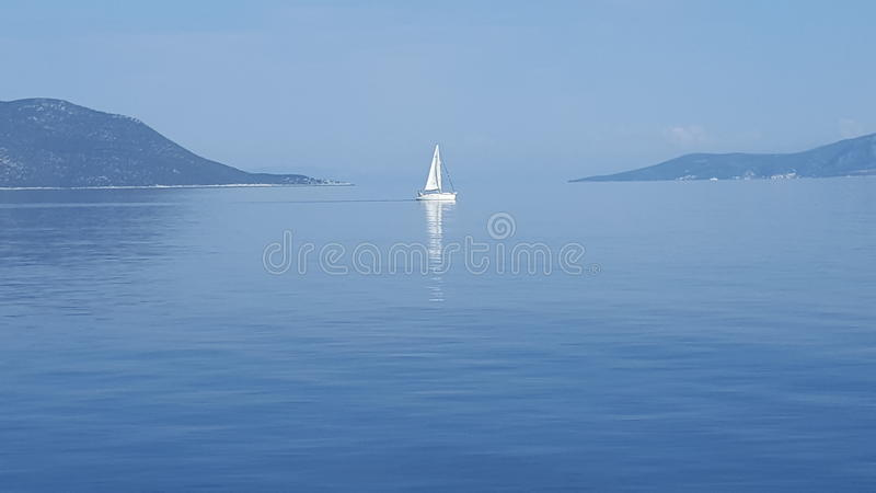 Mer de Skiathos Aegian image libre de droits