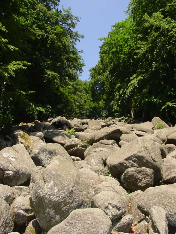 Mer des roches photographie stock libre de droits