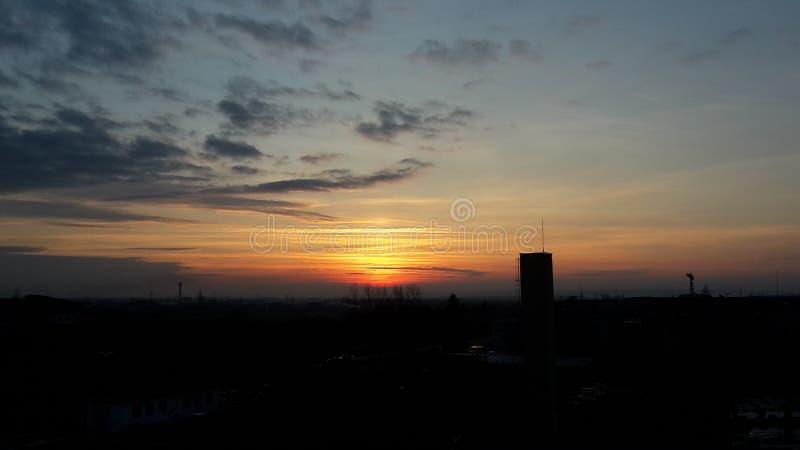 Mer des skys photographie stock libre de droits