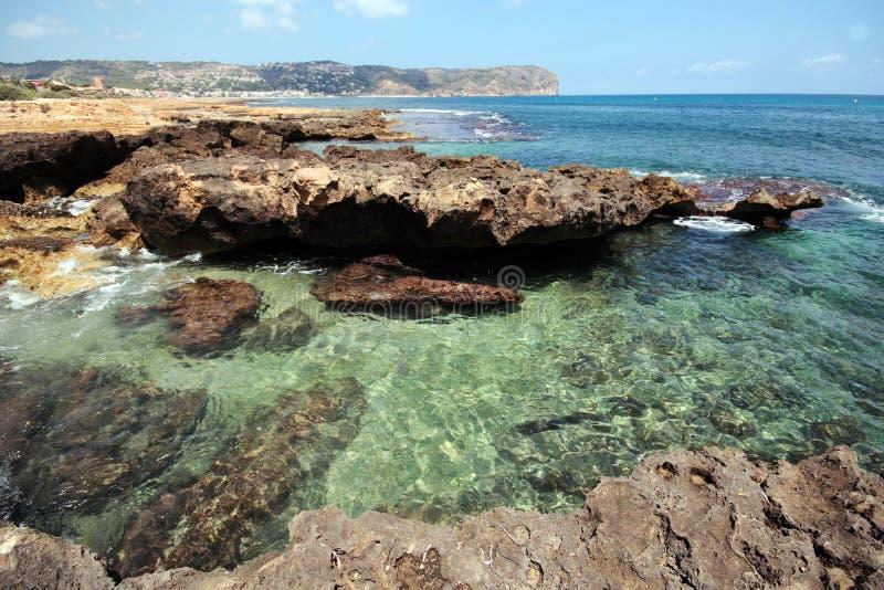 Mer en Espagne photos stock
