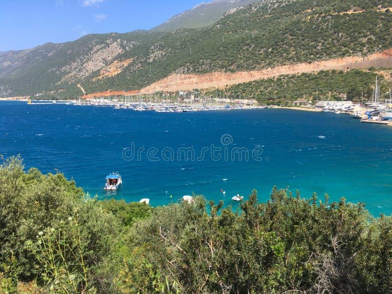 Mer en Turquie photo stock