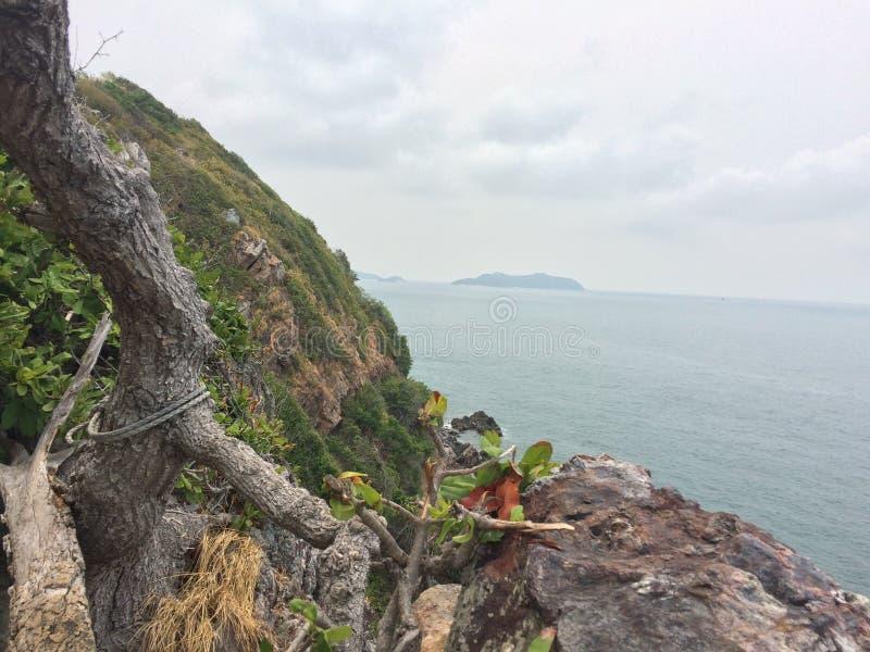 Mer et montagne photographie stock