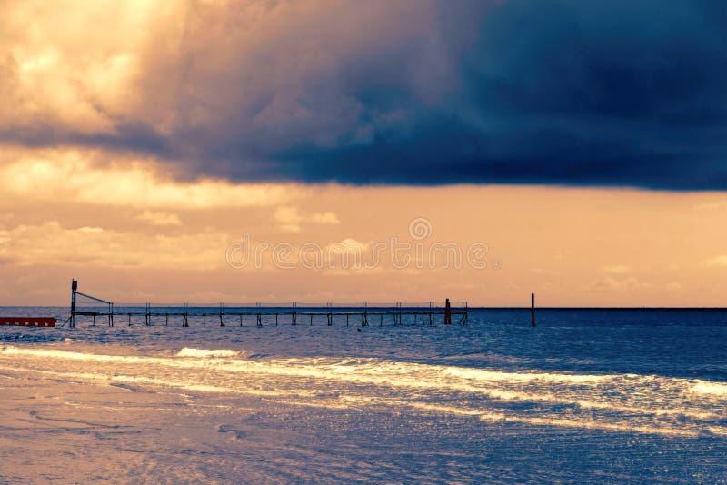 Mer et plage images stock