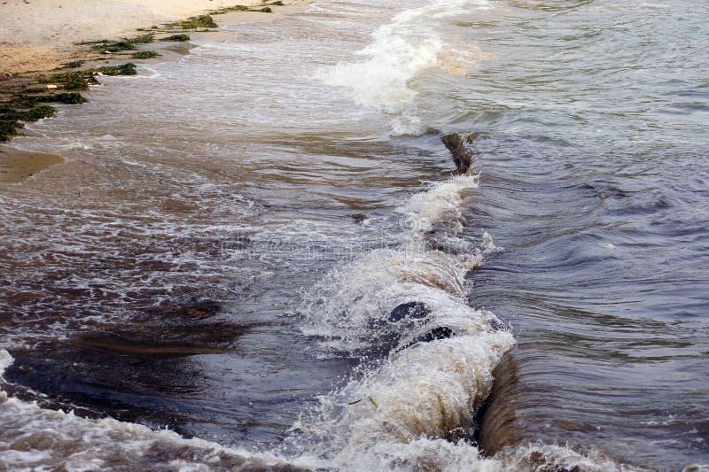 Mer et vagues images stock