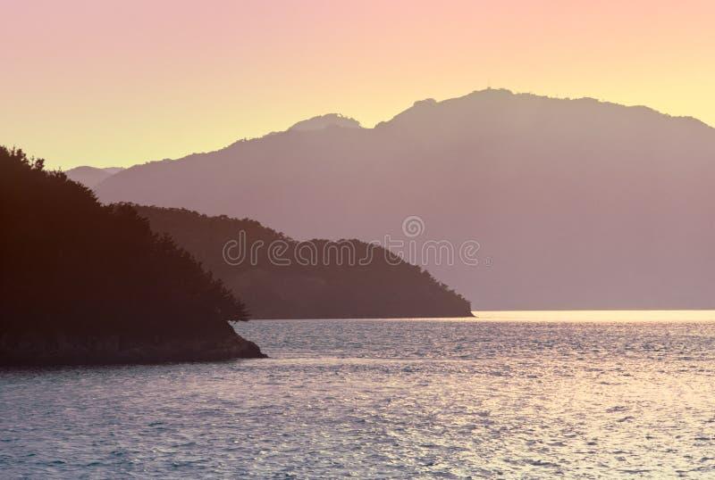 Mer japonaise images libres de droits